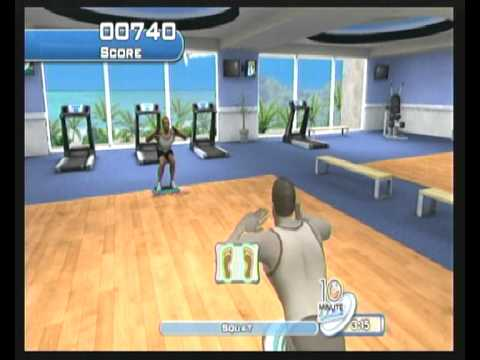 Wii Step Aerobic
