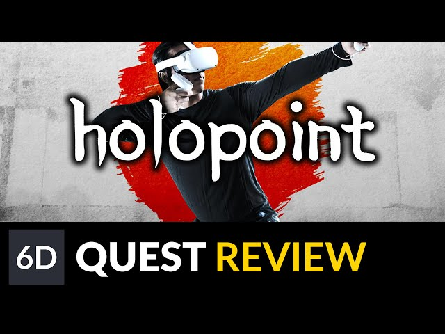 Holopoint | Oculus Quest Game Review