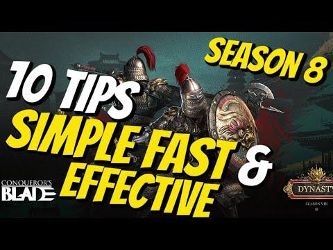 Download Conqueror's Blade Top 10 Quick Tips Season 8