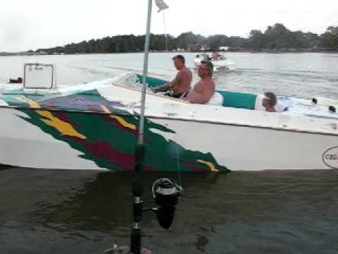johnny boat leaving the dock 2