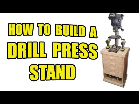 How to Build a Drill Press Stand