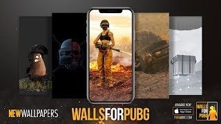 WALLS FOR PUBG Mobile App -  PROMO LAUNCH VIDEO