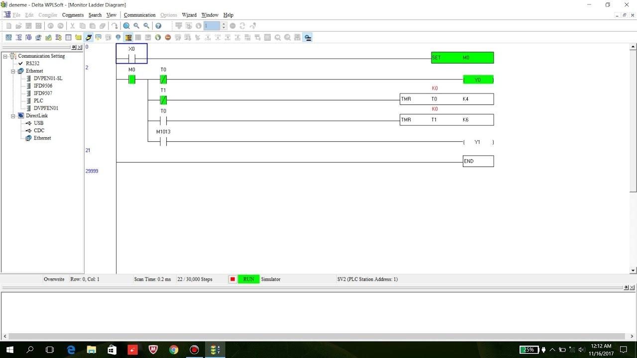 maxresdefault 4 delta plc programming wplsoft 2 45 timer flip flop youtube