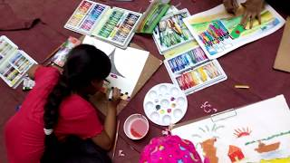 Drawing competition 2017 | how to draw | step by step draw | NDA | Drawing Academy | chattalkuri