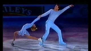 "Elena Berezhnaya & Anton Sikharulidze montage -  ""Une histoire d`amour"" (Love story))"