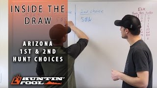 1st and 2nd Choices in the Arizona Elk Draw   Inside Huntin' Fool