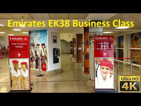 Emirates EK38 from Birmingham To Dubai, Business Class July 2018