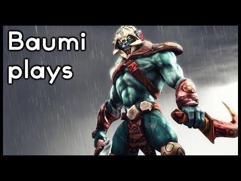Dota 2 | NO RESPECT FOR ANYONE!! | Baumi plays Huskar