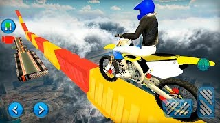 Real Impossible Track Moto Bike Stunt Master Game - Bike Game Gameplay Android