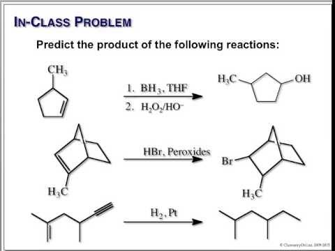 Organic Chemistry I - Final Exam Review