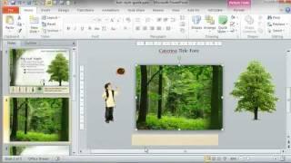 التعلم الإلكتروني صانعي: كيفية إنشاء تلاشى, صورة الخلفية في الغابات المطيرة الحال