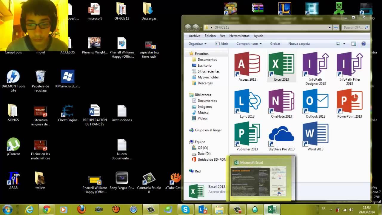 Como descargar office 2013 x32 gratis (activa…