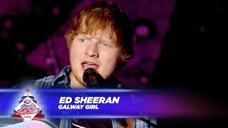 Ed Sheeran Galway Girl Live At Capital S Jingle Bell Ball 2017