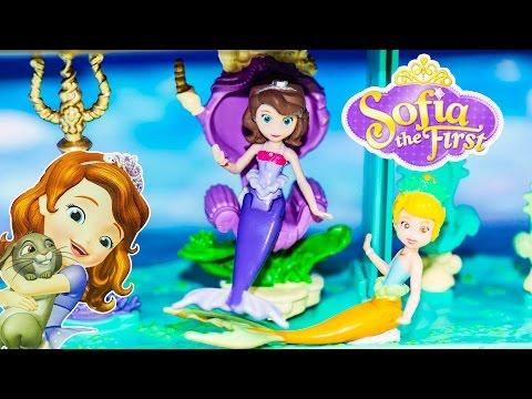 SOFIA THE FIRST Disney Princess Sofia Floating Palace Play Set Disney Sofia Video Toy Review