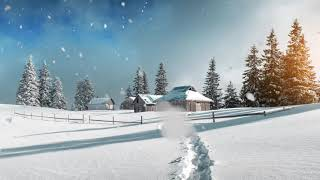 💨 Snowstorm Environment Sounds for Sleeping, Relaxing and Background Work