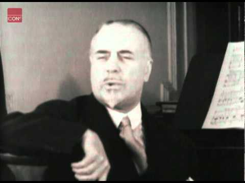 Sir Thomas Beecham, talks about the lack of good modern 'serious' music