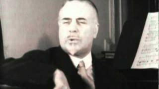 Sir Thomas Beecham, talks about the lack of good modern