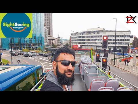 THIS BUS HAS NO ROOF - Sightseeing Birmingham City Centre Bus Tour