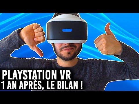PLAYSTATION VR : 1 AN DÉJÀ, LE BILAN !