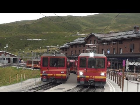 Switzerland - Jungfraujoch 2019 - Train to the Top of Europe, Pt 2