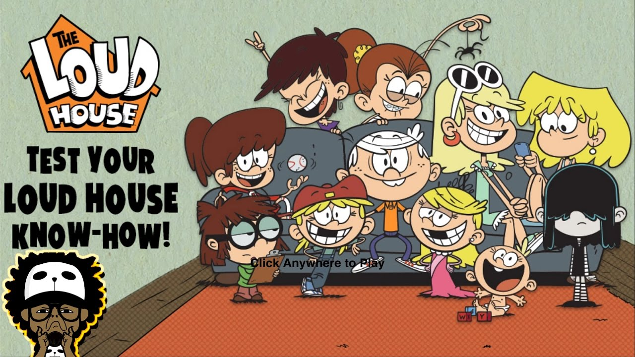 Nick Games The Loud House Test Your Loud House Know