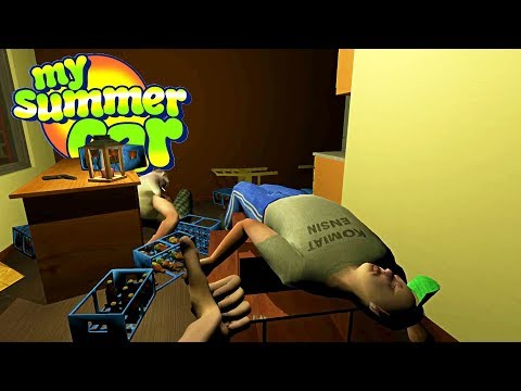 MY SUMMER DRUNKMAN'S NEW HOUSE PARTY! Also There's Soccer - My Summer Car Gameplay Highlights Ep 101