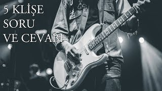 Фото Elektro Gitarla  ̇lgili 5 Klişe Soru Başlama Yaşı Klasik Gitarla Başlamak Nota Mı Tab Mı