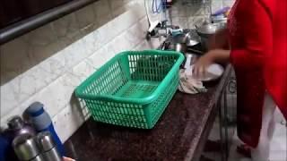 night kitchen cleaning routine | indian kitchen cleaning routine 2019 | cleaning by pratishtha