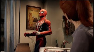 Peter Parker Is Always Awkward With Mary Jane - Spider Man ps4 - Funny Moments