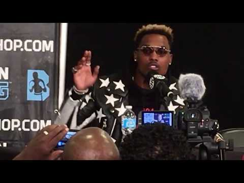 CHARLO BROTHERS UNCUT! JERMELL & JERMALL TALK TO MEDIA AT WILDER VS STIVERNE 2!