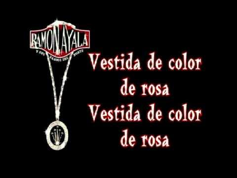 Vestida De Color De Rosa Con Letra