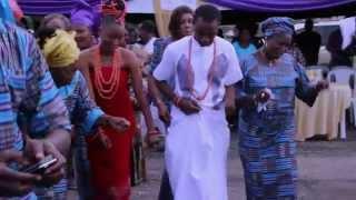 Nigerian Traditional wedding 14 The wedding OYENMWEN and DAVID ORHEWERE