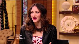 Katharine McPhee @ Live with Kelly & Michael - 2013.05.02