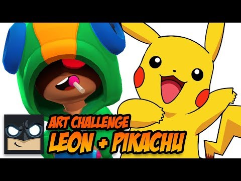 art-challenge-|-leon-+-pikachu-fusion