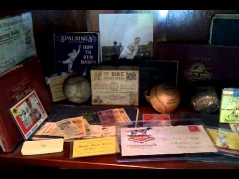 Antique Sports Collector - Memorabilia Room