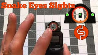 Dead Ringer Snake Eyes Handgun Sight Review