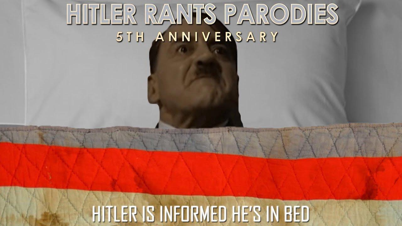 Hitler is informed he's in bed