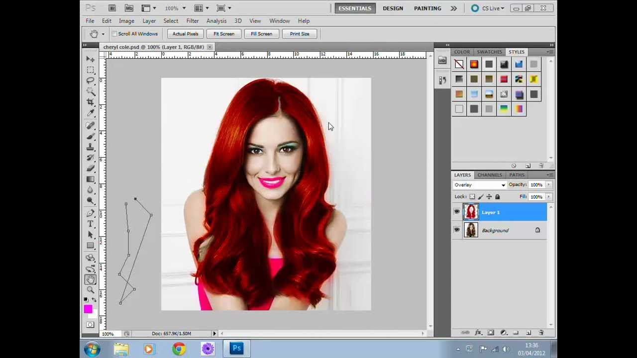 how to make clothes transparent in photoshop cs5