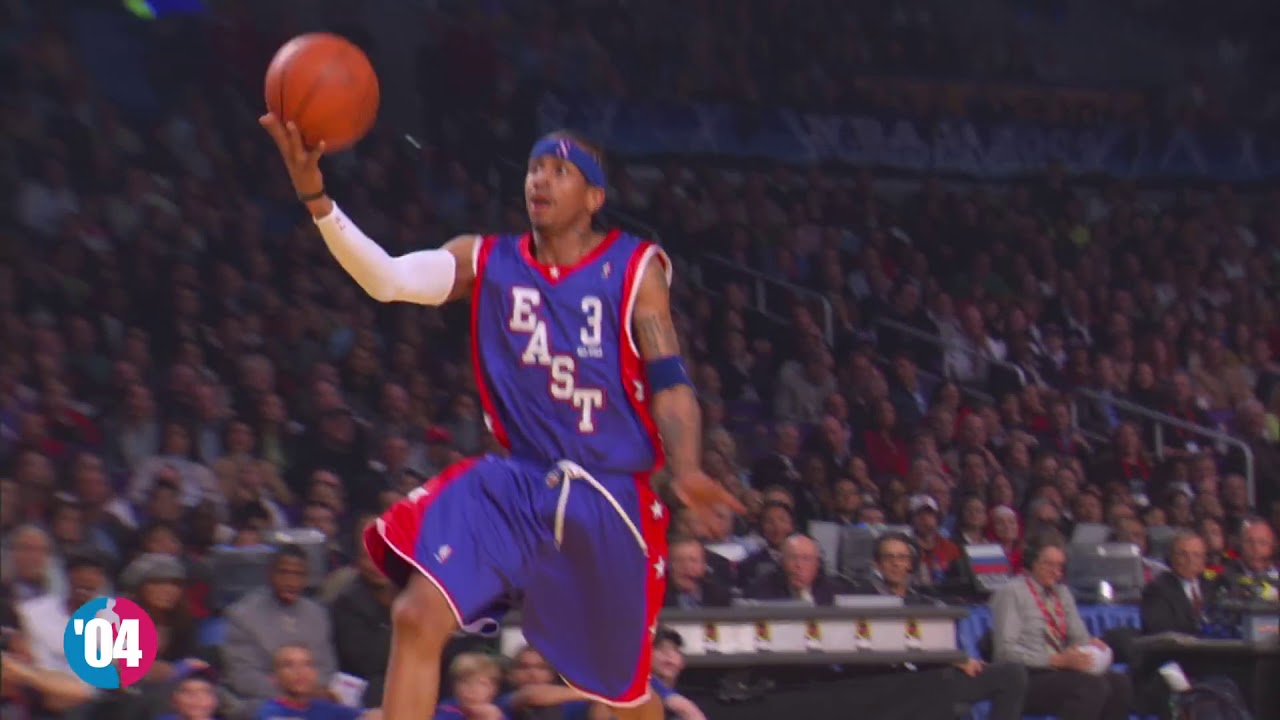 c3940818e4dc Allen Iverson s Best Play of EACH NBA All Star Game! (2000-2009 ...