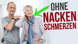 Nie mehr Nackenschmerzen❗ SO klappt es mit 92+ Jahren! – Nacken Übungen