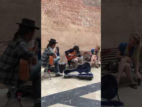 Street music in Malaga, Spain