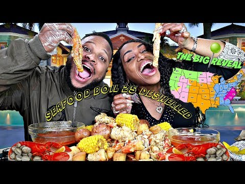 Seafood Boil 25; Revealing what State We're Moving to