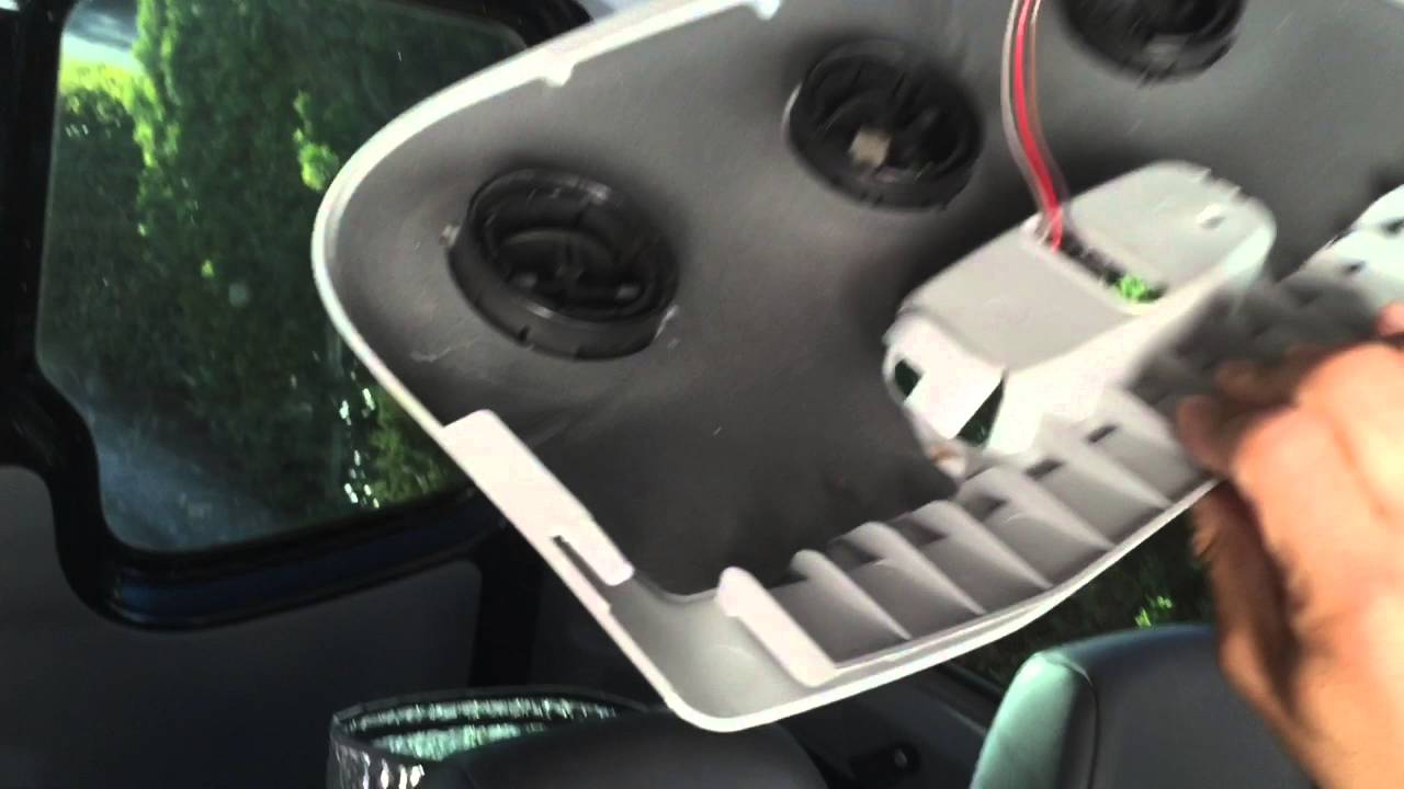 Mercedes Sprinter Van Headliner Removal