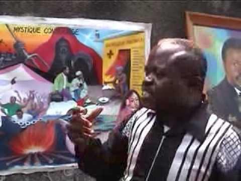 Chéri Chérin, peintre populaire à Kinshasa en République Démocratique du Congo - extrait