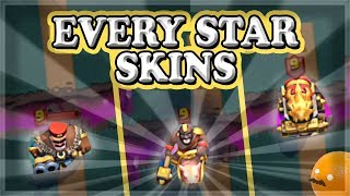 EVERY Star Skin Leטel 2 and Level 3 Skins | Clash Royale 🍊
