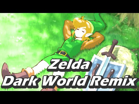 zelda dark world remix