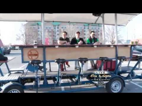 Bricktown Bike Bar On Freedom 43 Youtube