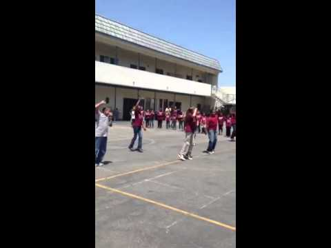 Southland Christian Academy Advanced Drama Class Flash Mob