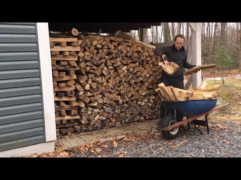 Indoor Firewood Storage
