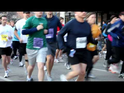 2010 Cowtown Marathon Run - Second group